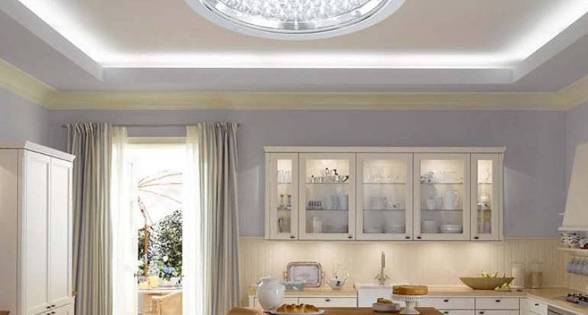 Kitchen Ceiling Lights Ideas Feature Low