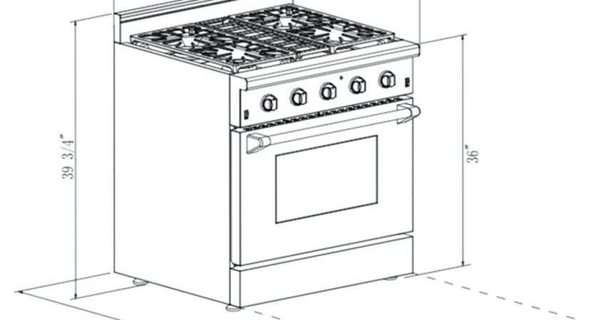 Kitchen Floor Plan Symbols Appliances