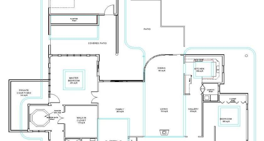 Kitchen Front House Plans Joys