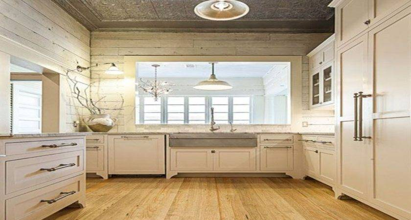 Kitchen Ideas Painted Shiplap Paneling Repurposed Siding