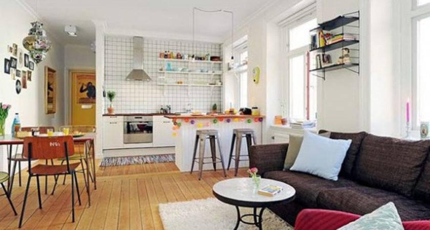 Kitchen Living Room Open Floor Plan Design Ideas