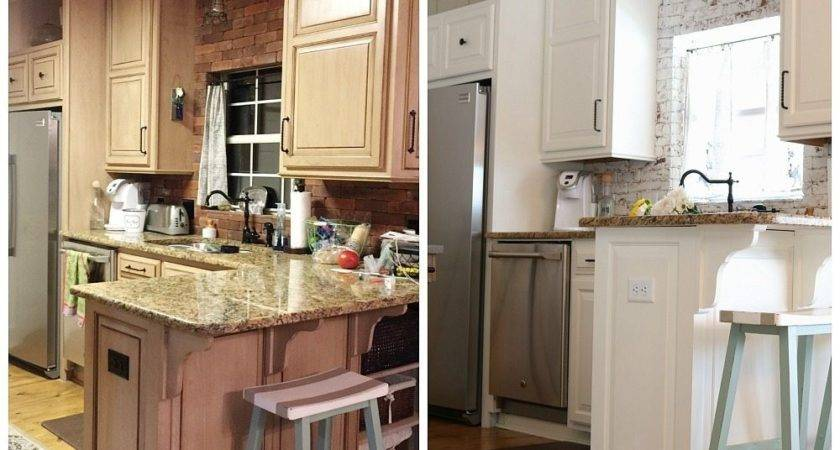 Kitchen Makeover Before After Refresh Restyle