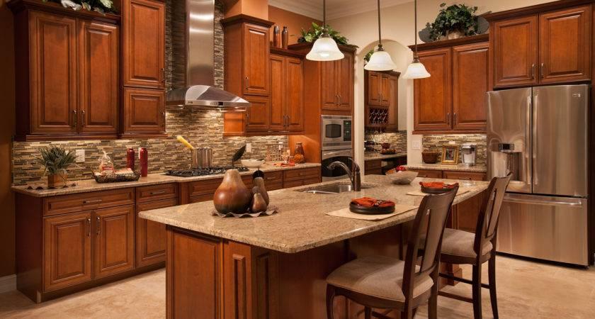 Kitchen Model Home