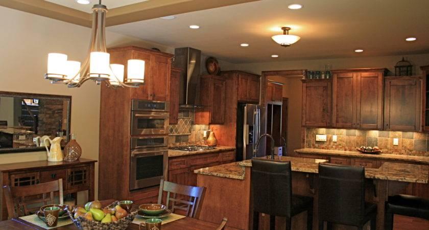 Kitchen Model Homes Decor Design Ideas