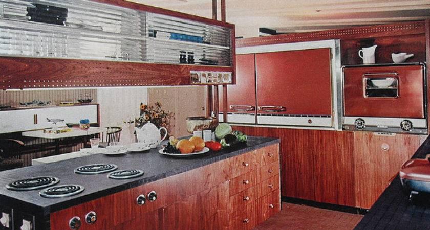 Kitchen Modern Woodgrain Glass Vintage Interior Desi