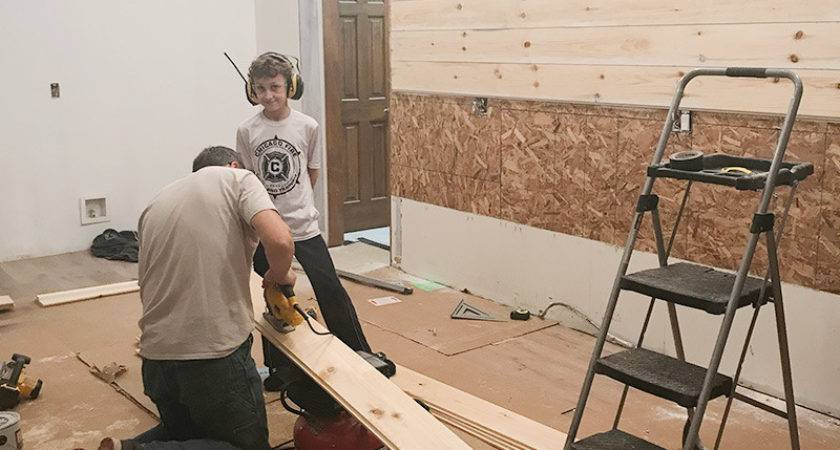 Kitchen Remodel Adding Shiplap Wall Harper House