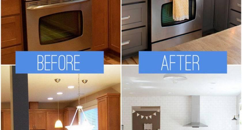 Kitchen Remodeling Before After Modern Kitchens