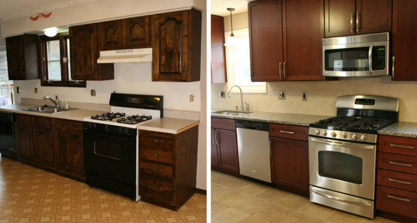 Kitchen Remodels Before After Photos Modern Kitchens