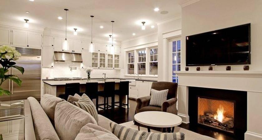 Kitchen Room Transitional Living