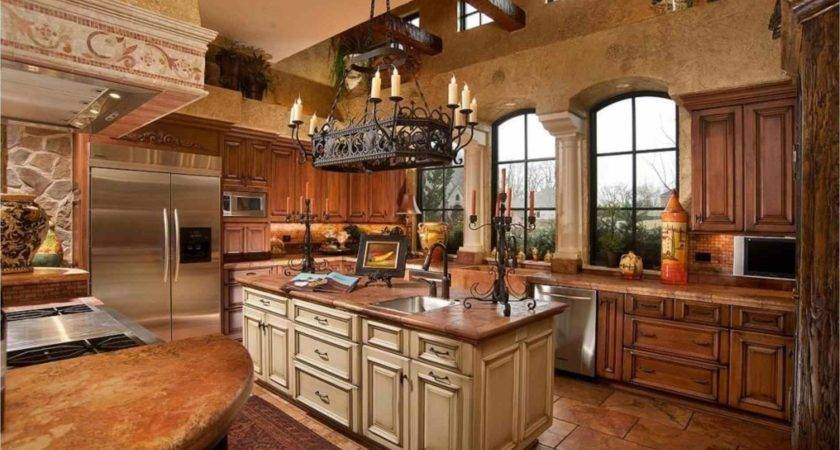 Kitchen Rustic Decorating Ideas Kitchens Country Home