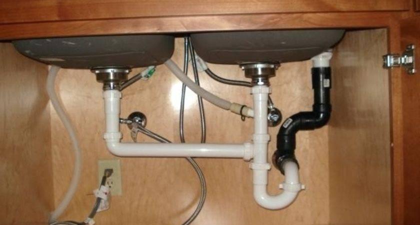 Kitchen Sink Vent Drain Air