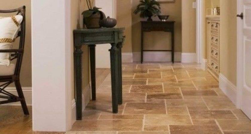 Kitchen Tile Floor Ideas Fireplace