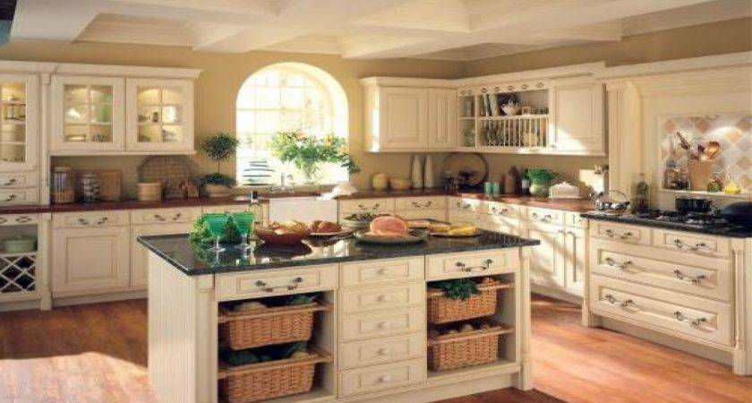 Kitchen Wall Ideas French Country Color Palette
