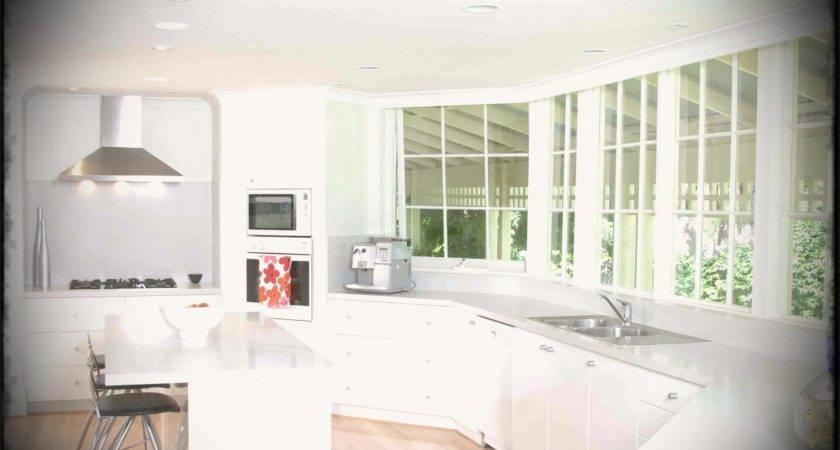 Kitchen White Cabinets Granite Home Depot Wall