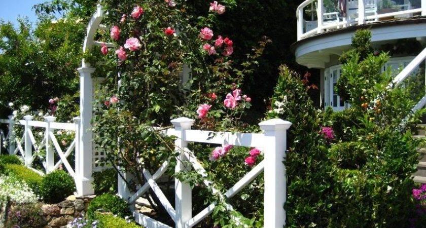 Laguna Beach Cottage European Garden Design