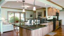 Lake Kegonsa Tri Level Remodel Traditional Kitchen