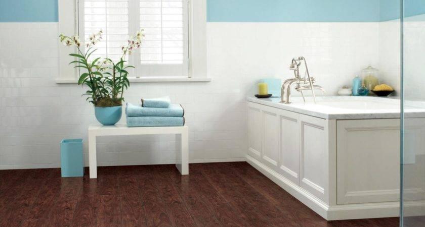 Laminate Bathroom Floors Design Choose Floor