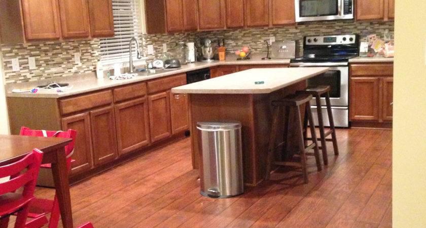 Laminate Flooring Install Kitchen