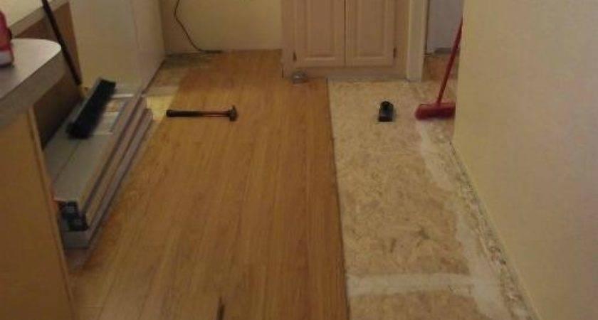 Laminate Flooring Kitchens Yourself Installation