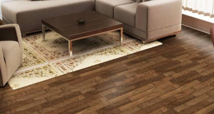 Laminate Flooring Living Room Wooden Home
