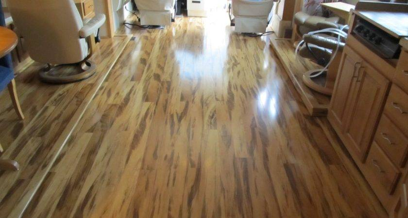 Laminate Flooring Motorhome