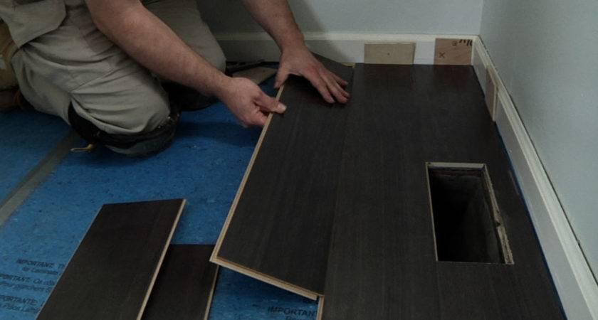 Laminate Flooring Nail Down