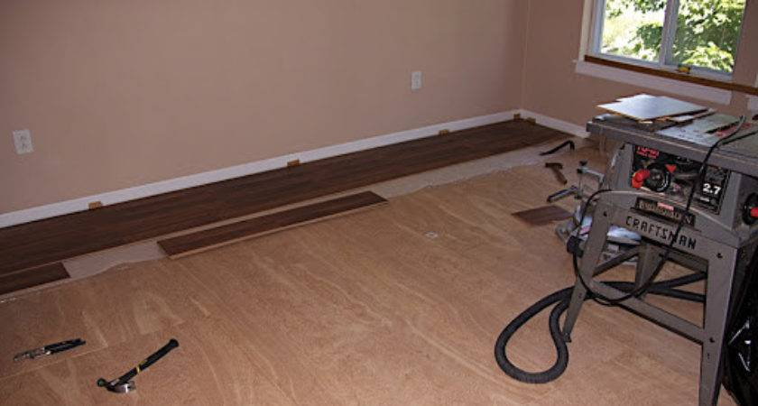 Laminate Flooring Put Down Video