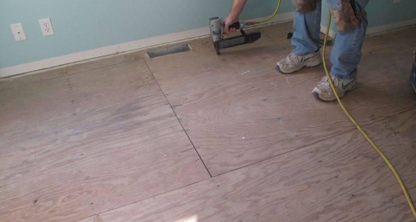 Laminate Flooring Subfloor Preparation