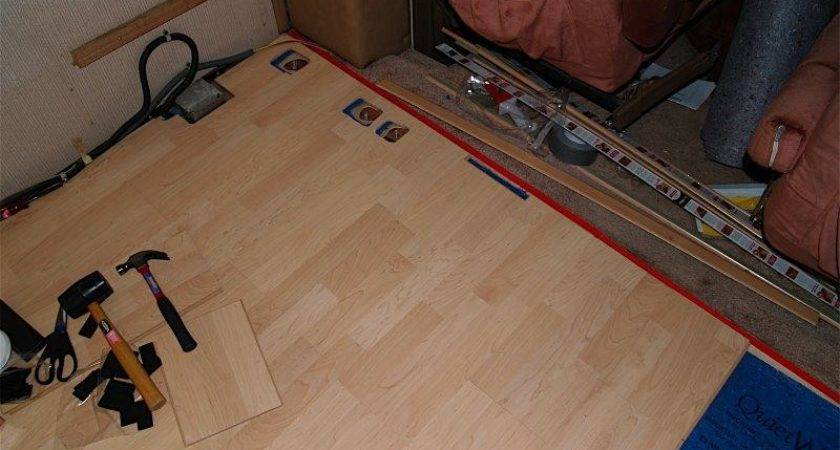 Laminate Flooring Trailer