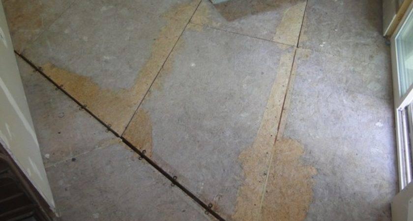 Laminate Flooring Uneven Subfloor