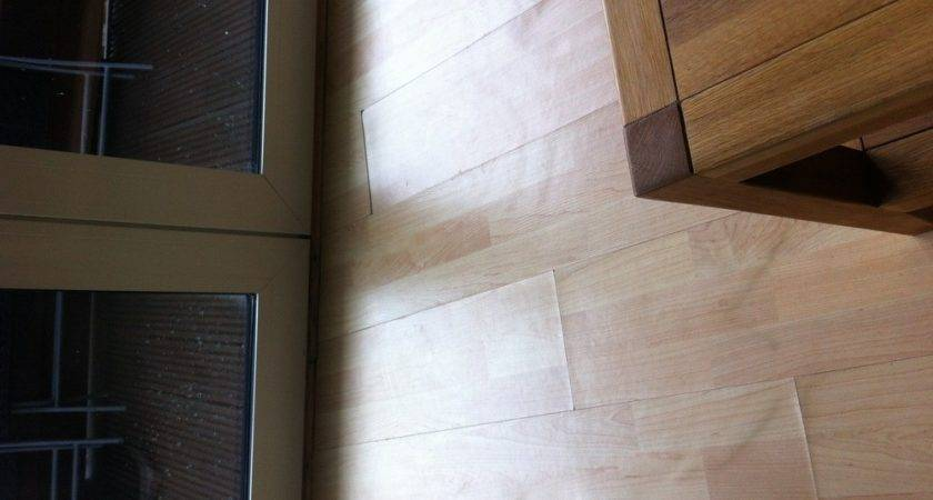 Laminate Flooring Water Leak Under