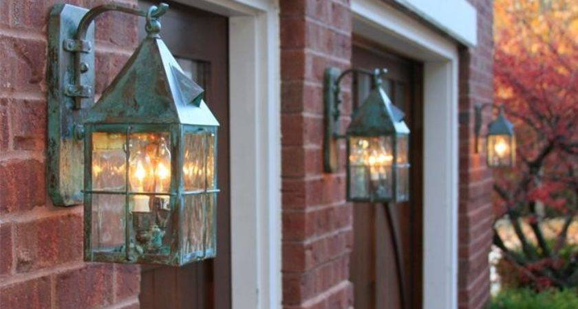 Lancaster Lantern Wide Scrolled Hook Exterior Wall