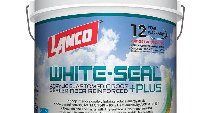 Lanco Gal White Seal Plus Reflective Roof Coating