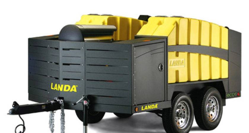 Landa Ecos Hot Water Gasoline Mobile Wash