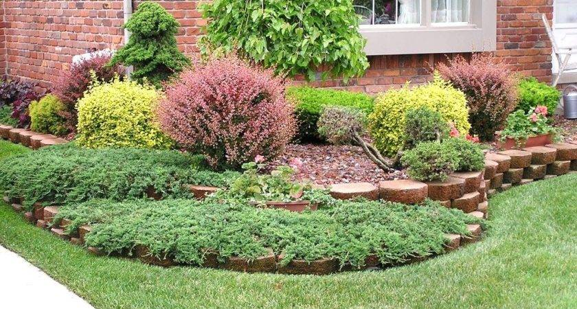 Landscape Front Yard Landscaping Ideas Rocks Intended