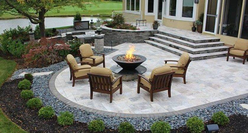 Landscape Installation Travertine Patios Yards