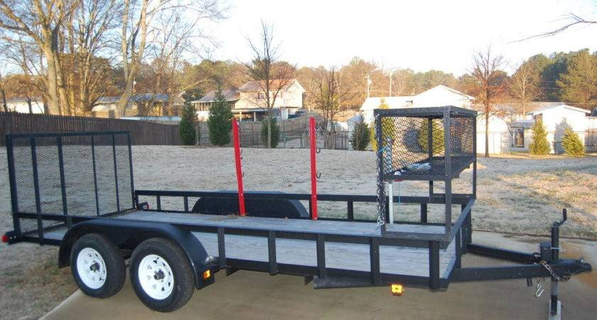 Landscape Trailer Racks Furniture Ideas Home Interior