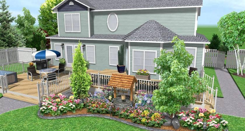 Landscaping Around Deck Design Ideas Pdf