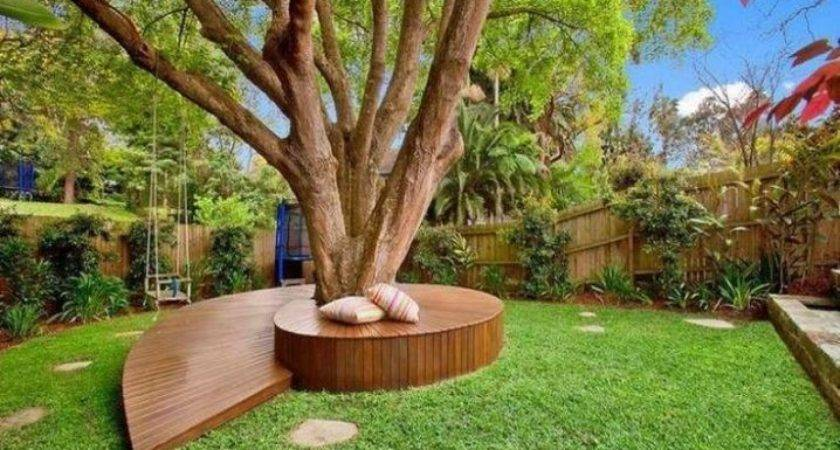 Landscaping Around Trees Ideas Should Not Miss