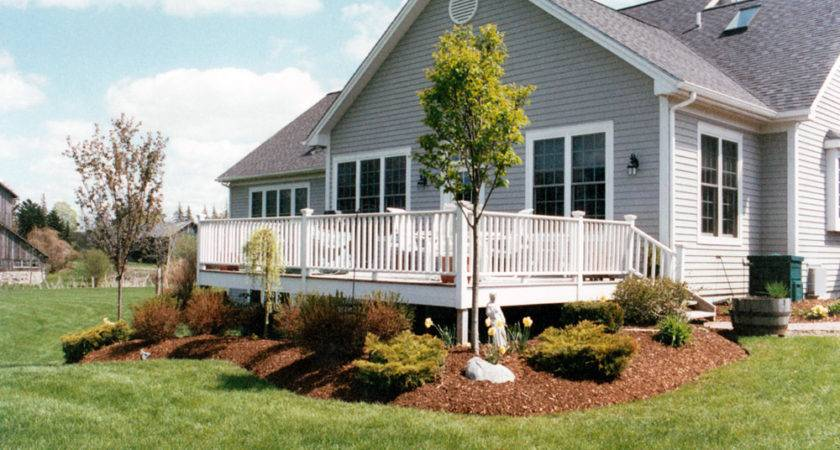 Landscaping Ideas Around Deck Learn