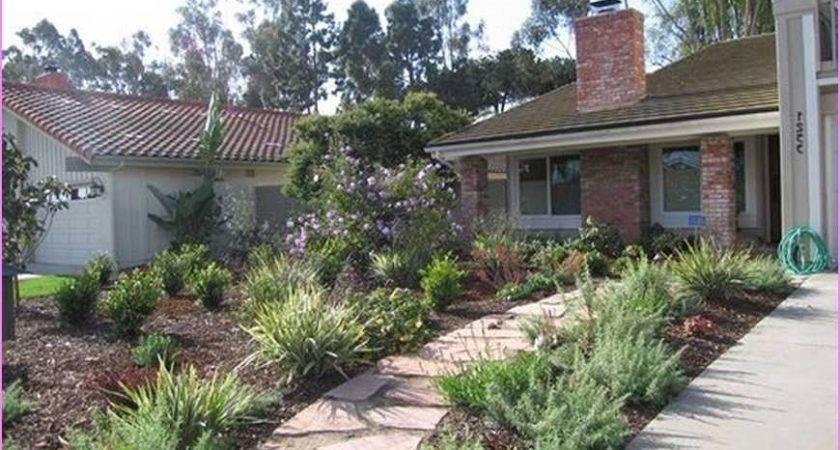 Landscaping Ideas Front Yard Grass Garden Design