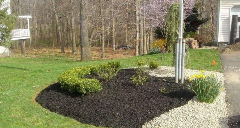 Landscaping Ideas Mulch Rocks Place