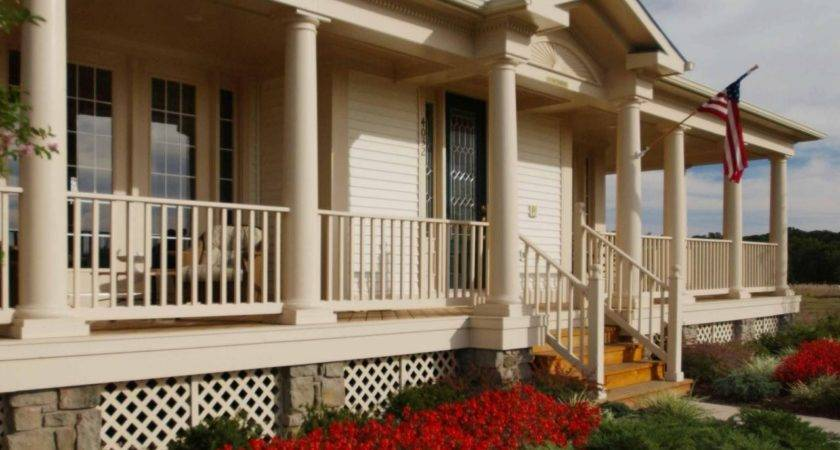 Landscaping Ideas Wrap Around Front Porch