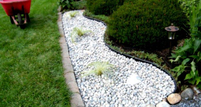 Landscaping Rocks Mulch Home Decorating Ideas