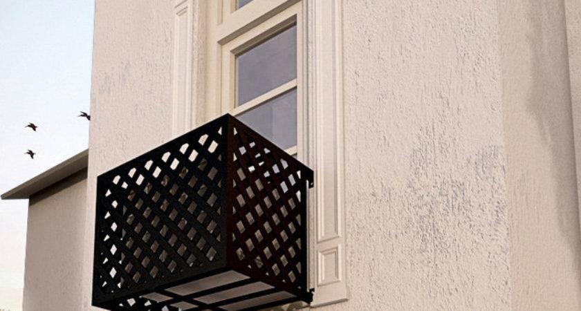 Lattice Iron Air Conditioning Cover Window Guard