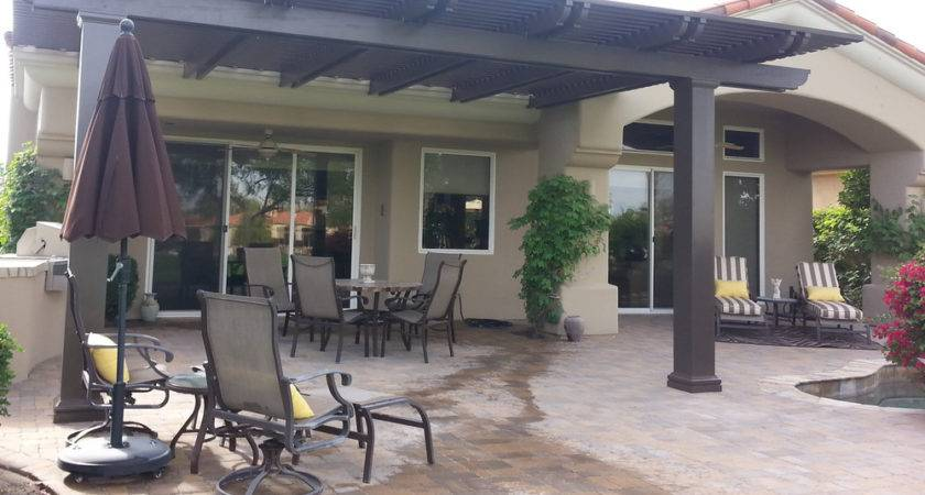 Lattice Patio Covers Indio Palm Desert Quinta