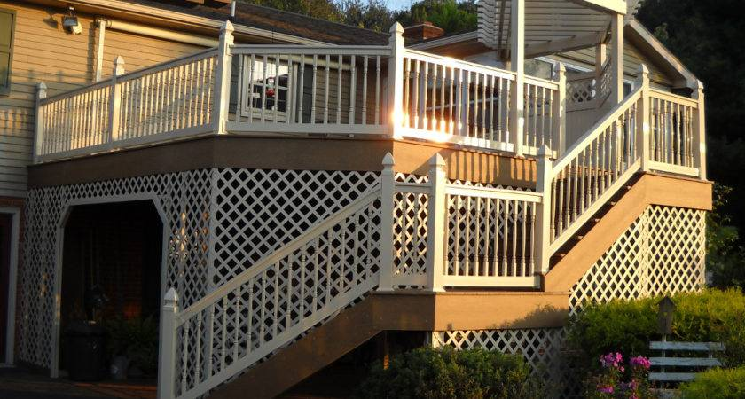 Lattice Used Beautify Decks Fences Gazebos