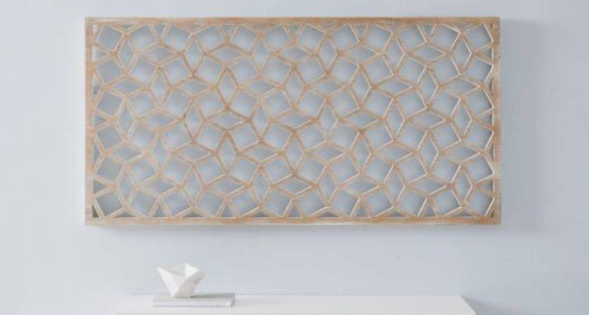 Lattice Wall Art Rectangle West Elm