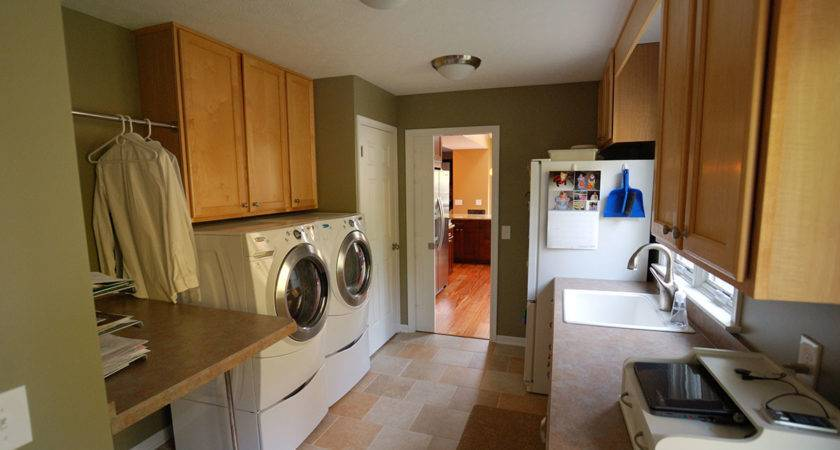 Laundry Mud Room Renovation Hurst Remodel