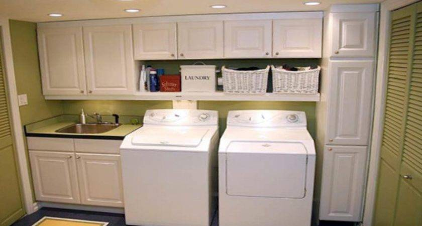 Laundry Room Cabinets Essential Organizing